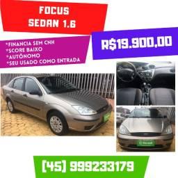Focus 1.6 Sedan 2007 Completo