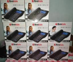 Telefone fixo da ibratele com varias funções.