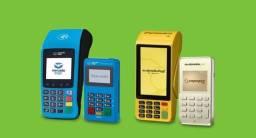 Maquininha de cartão de crédito PagSeguro, Mercado Pago e Sumup