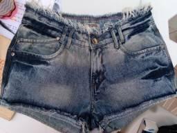 Bermuda jeans feminino