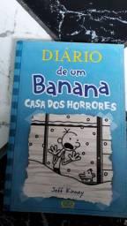 Livro Diário de um banana 6 Casa dos horrores