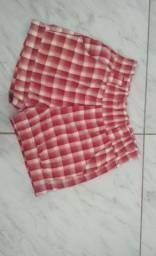 Vestidos e shorts