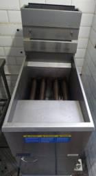 Título do anúncio: Fritadeira Industrial a gás seminova