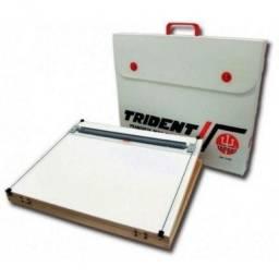 Prancheta Desenho Portátil A2 Inclinação 50X65cm Trident