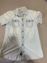 Título do anúncio: Camisa de botão Damyller tam M
