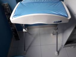 Trocador azul com banheira 50 reais