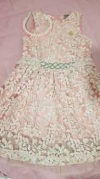 Vestido infantil  Brandili luxo