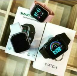 Relogio Inteligente Smartwatch D20 Bluetooth com Monitor Saúde (1 mes de GARANTIA)