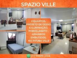 Título do anúncio: Apartamento com 2 quartos na Pituba - Glamoroso