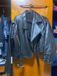 Título do anúncio: Jaqueta couro vintage tamanho M
