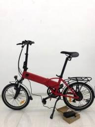 Bike elétrica e dobrável