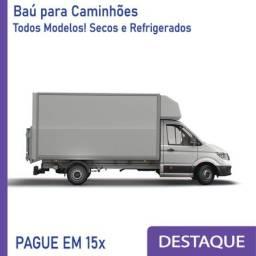 Título do anúncio: Baú Refrigerado e Baú Seco para Caminhão Modelo: TU 373