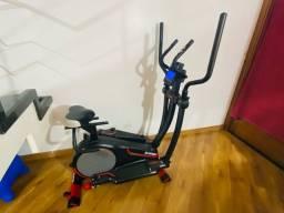 Título do anúncio: elíptico easyway genis fitness bicicleta praticamente nova