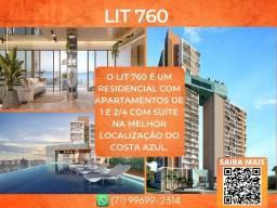 Título do anúncio: LIT 760, 2 suítes em 70m² com 2 vagas de garagem em Costa Azul - Glamoroso