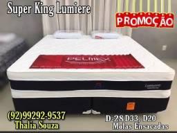 """Título do anúncio: """"Super King Lumiere Pelmex Molas Ensacadas /D-33, D-28 /Fibra de Bambu!! ++Frete Grátis"""