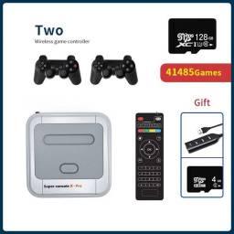 Super Console X Pro Vídeo Game com mais de 20 mil jogos (PS1, PSP, Dreamcast)