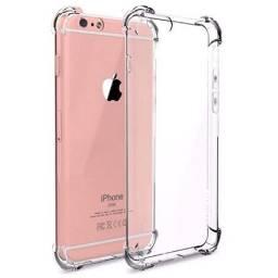 Capinha anti impacto transparente NOVA iPhone 7, 8, SE