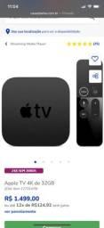 apple tv semi novo 32Gb