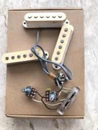 Título do anúncio: Parte elétrica original Fender made in México 1998, com os captadores originais.