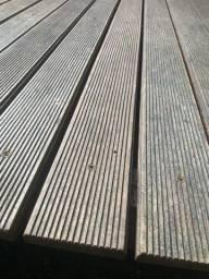 4 m2  deck itaúba em ripas somente 85 o metro
