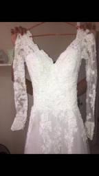 Título do anúncio: Vestido de noiva n 34