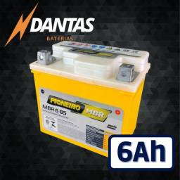 Bateria Pioneiro moto MBR6BS 6Ah