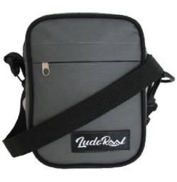 Shoulder bag Ludoraal Slim cinza, bolsas transversal para homens e mulheres