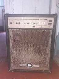 Caixa de som amplificada da Frahn