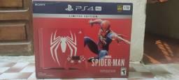 Título do anúncio: PS4 PRO Edição Limitada Spidermam