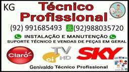 Título do anúncio: Técnico Sky