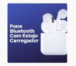 Fone sem fio com estojo de carregador 1 par de fones (OB)