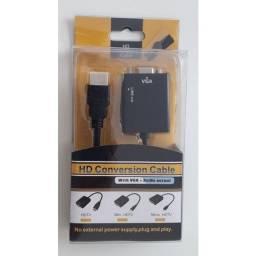 Conversor VGA paga HDMI - Super Promoção