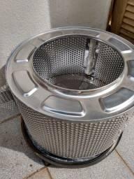 Título do anúncio: Cesto (tambor) da maquina de Lavar roupas Continental Evolution original, em aço