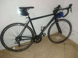 Bicicleta speed vicinitech space pro grupo Shimano claris