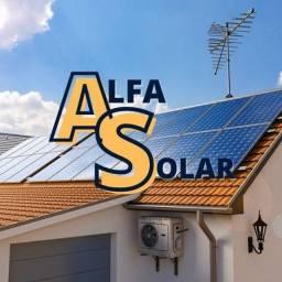 Título do anúncio: Alfa energia solar, sistema fotovoltaico