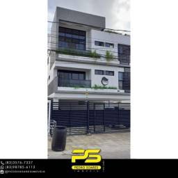 Título do anúncio: Apartamento com 2 dormitórios à venda, 55 m² por R$ 230.000 - Bancários - João Pessoa/PB