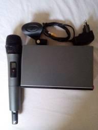 Microfone sem fio Sennheiser 1.500 reais