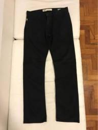 Título do anúncio: Calça Preta Vans V56 Standard Original Tamanho 42 Brasileiro (32 Americano) Semi-nova