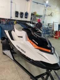 Título do anúncio: Jet ski GTI 130 + carrocinha