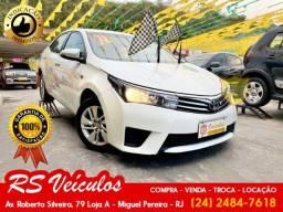 Título do anúncio: Toyota Corolla Gli 1.8 Automatico Cvt Completo de Tudo - 2016