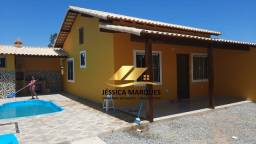 Título do anúncio: Bela casa com 2 quartos com piscina em Unamar, Tamoios - Cabo Frio - RJ