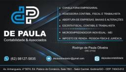 Título do anúncio: Contador, Escritório de Contabilidade, Contabilidade, Imposto de Renda, Mei