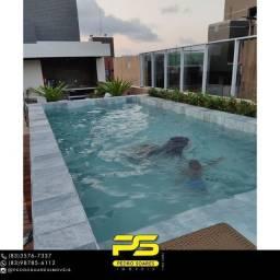 Título do anúncio: Flat para alugar, 17 m² por R$ 1.800/mês - Cabo Branco - João Pessoa/PB