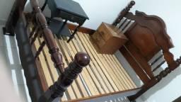 Título do anúncio: Cama de Casal em madeira maciça