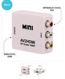 Conversor Av para HDMI