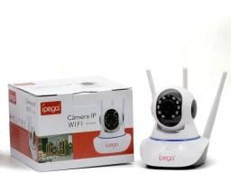 Título do anúncio: Câmera Segurança Ip Wifi Audio 3 Antenas