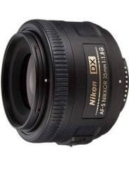 Lente Nikon 35mm 1.8 (usada) *LEIA O ANÚNCIO