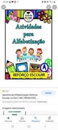 Título do anúncio: Aulas de reforço escolar alfabetização