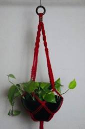 Título do anúncio: Suportes para plantas de Macrame