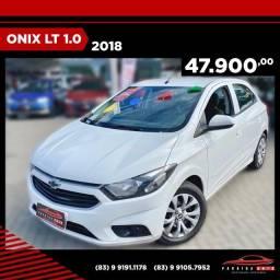 Onix LT 1.0 - 2018 - Completo ( Paraíba Auto )